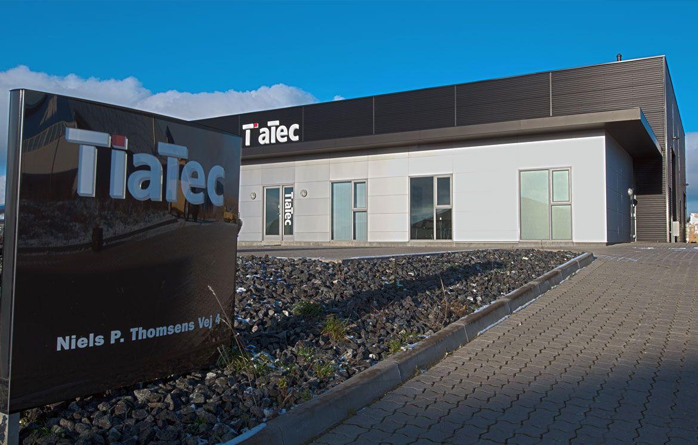 Tiatec - Kontor, produktion og lager